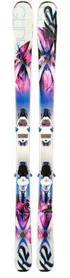 K2 Superglide 80 Skis w/ Marker ERC 11 TC Bindings - Women's