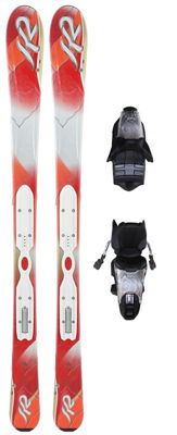 K2 Pure Skis w/ Marker Erp 10.0 Bindings - Women's