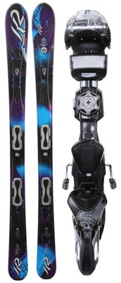 K2 SuperGlide Skis w/ Marker ERS 11.0 TC Demo Bindings - Women's