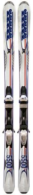 K2 A.M.P. Impact 5500 50th Anniversary Skis w/ Marker M3 11.0 Bindings - Men's