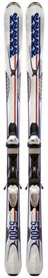 K2 A.M.P. Impact 5500 50th Anniversary Skis w/ Marker M3 11.0 Bindings - Men's