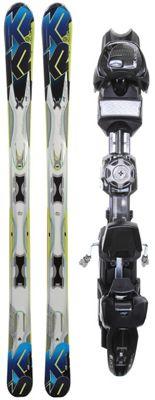 K2 A.M.P. Aftershock Skis w/ Marker MX 12.0 Demo Bindings - Men's
