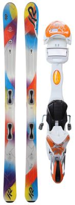 K2 Superstitious Skis w/ Marker ERS 11.0 TC Bindings - Women's