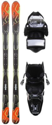 K2 A.M.P. Impact Skis w/ Marker M3 11.0 Bindings - Men's