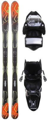 K2 A.M.P. Impact Skis w/ Marker M3 11.0 Bindings - Men's