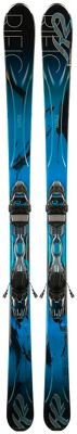 K2 Superific 76 Skis w/ Marker Er3 10 Bindings - Women's