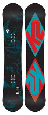 K2 Standard Wide Snowboard 159 - Men's