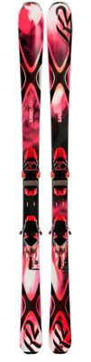 K2 Superbernin 74 Skis w/ Marker ERC 11 TC Bindings - Women's