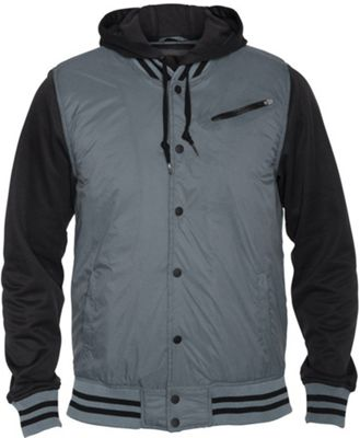 Hurley All City Fleece Jacket Aviator Grey - Men's