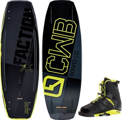 CWB Faction Wakeboard w/ Faction Bindings - Men's