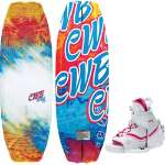 CWB Lotus Wakeboard 130 w/ Sage Bindings - Women's