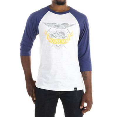 Moosejaw Men's Danger Zone 3/4 Sleeve Baseball Tee