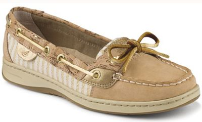 Sperry Women's Angelfish 2 Eye Metallic Fleck Shoe