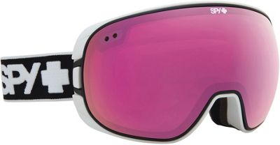 Spy Bravo Goggles White/Pink/Pink Spectra + Bronze/Silver Lens - Men's