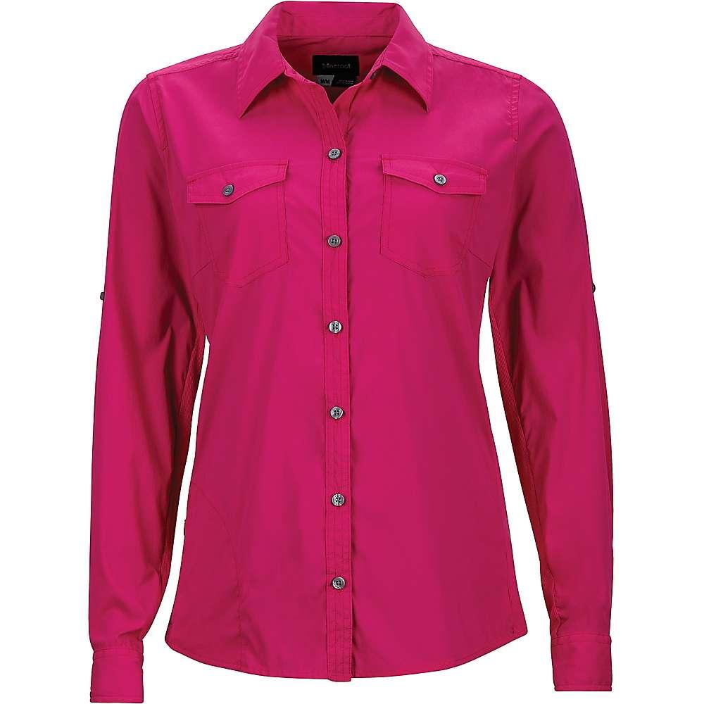Marmot Women's Annika LS Shirt - Small - Bright Fuchsia
