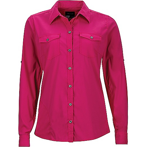 Marmot Women's Annika LS Shirt Bright Fuchsia