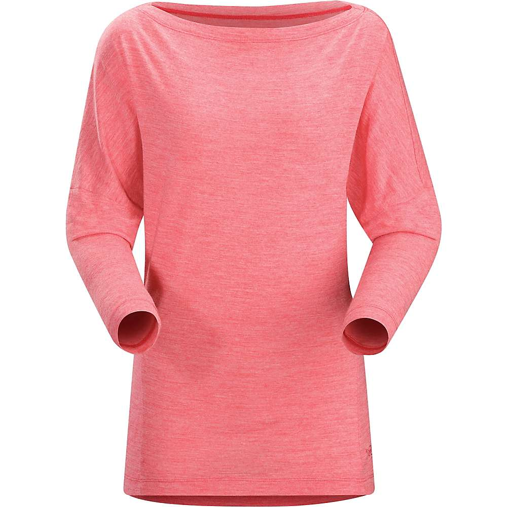 Arcteryx Women's Quinn LS Top - Medium - Pink Tulip