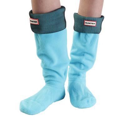 Hunter Women's Pleated Rib Boot Socks