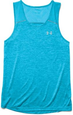 Under Armour Men's Heatgear Armourvent Launch Singlet