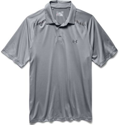 Under Armour Men's Coldblack Forged Stripe Polo