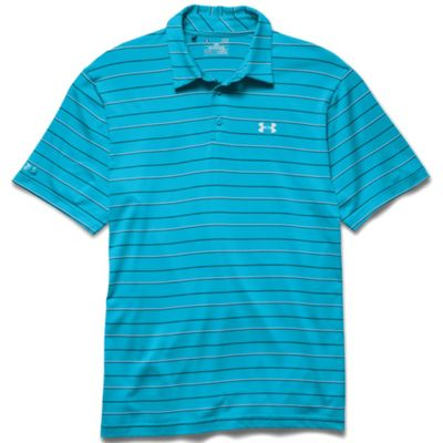 Under Armour Men's Coldblack Par Stripe Polo