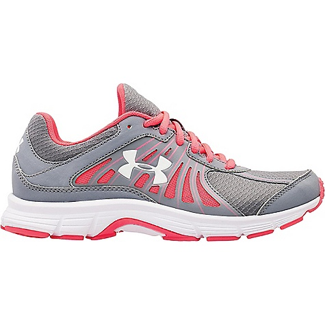 Under Armour Women's Dash RN Shoe Steel / Pride / White