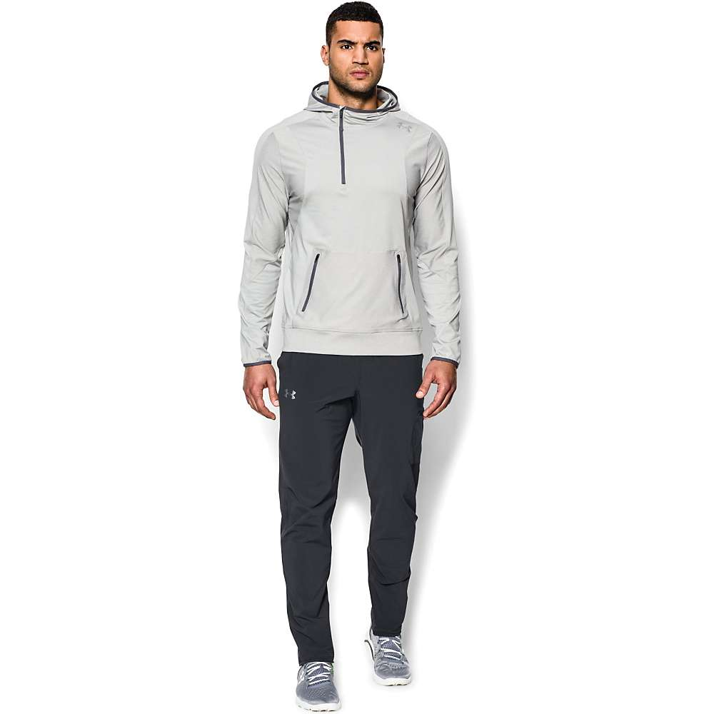 Under Armour Men's Elevate Woven Pant - XL - Anthracite / Anthracite / Black