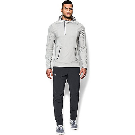 Under Armour Men's Elevate Woven Pant Anthracite / Anthracite / Black
