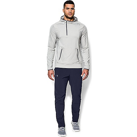 Under Armour Men's Elevate Woven Pant Midnight Navy / Anthracite / Silver