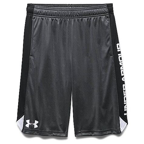 Under Armour Boys' Eliminator Printed Short Graphite / Black / White