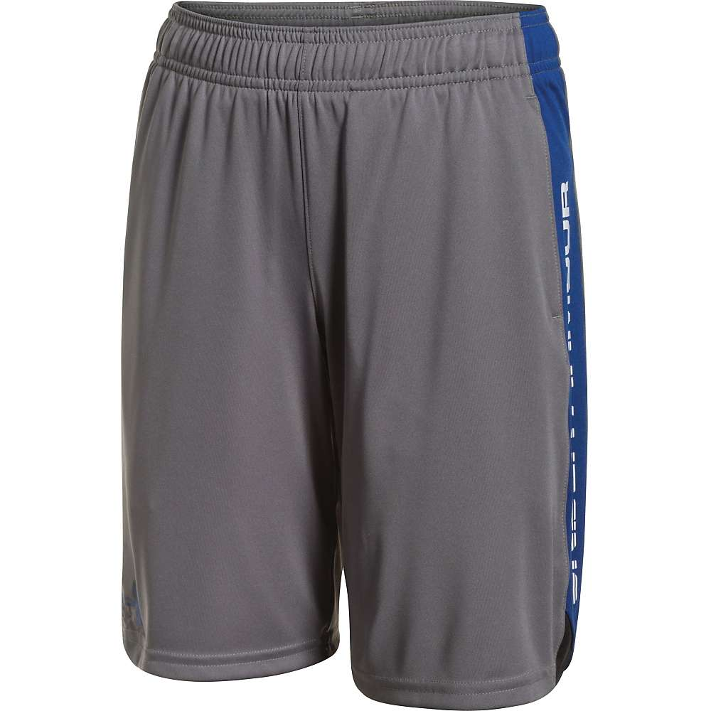 Under Armour Boys' Eliminator Short - Small - Graphite / Black / Royal