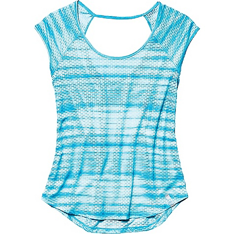 Under Armour Women's Fly By Allover Printed Mesh SS T 2563976