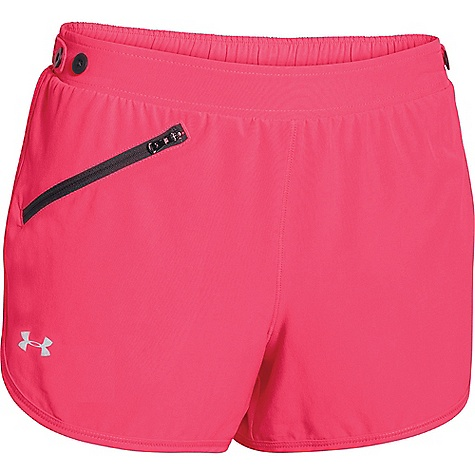 Under Armour Women's Fly Fast Short Pink Shock / Phantom Gray / Reflective