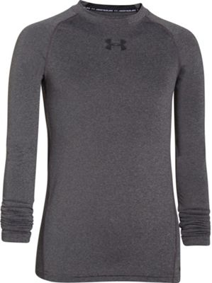 Under Armour Boys' HeatGear Armour Fitted LS Baselayer