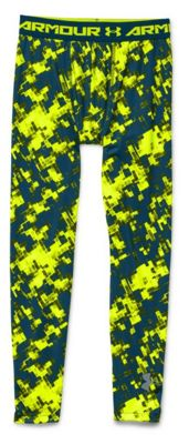 Under Armour Boys' HeatGear Armour Fitted Printed Legging