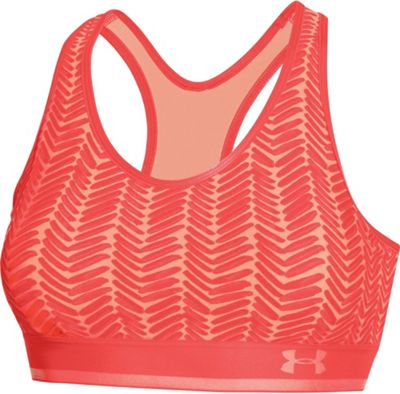 Under Armour Women's Heatgear Alpha Printed Bra with Cups