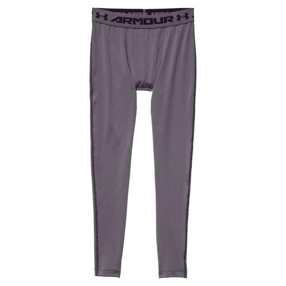 Under Armour Men's HeatGear Armour Compression Legging - Small - Graphite / Black