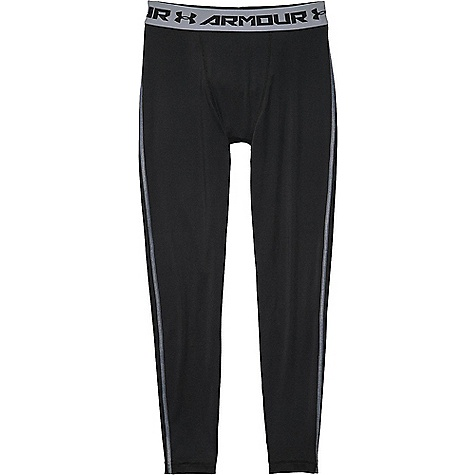 Under Armour Men's HeatGear Armour Compression Legging Black / Steel