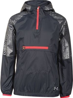 Under Armour Girls' Popover Rain Shell