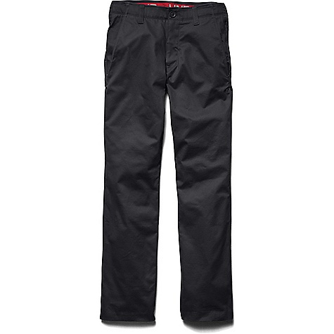 Under Armour Men's Performance Chino Tapered Leg Pant Black / Black