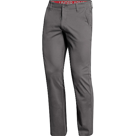 Under Armour Men's Performance Chino Straight Pant Concrete / Concrete