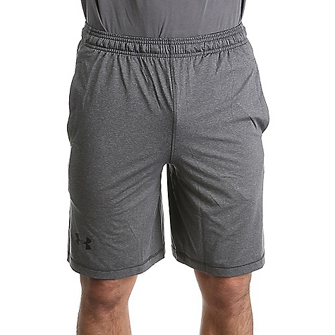 Under Armour Men's UA Raid Short Carbon Heather / Black