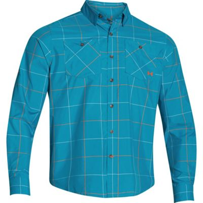 Under Armour Men's UA Chesapeake LS Plaid Shirt