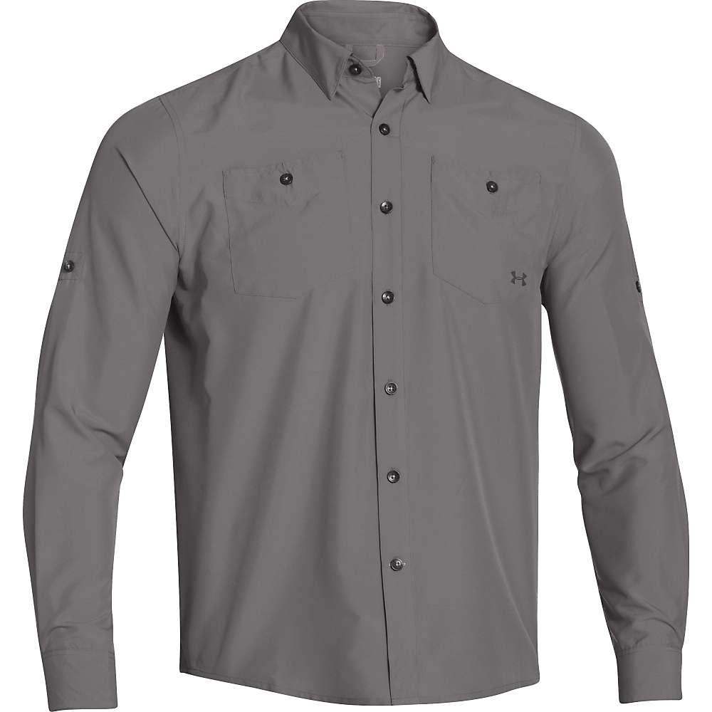 Under Armour Men's UA Chesapeake LS Shirt - XL - Storm / Elemental