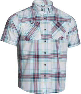Under Armour Men's UA Chesapeake SS Plaid Shirt