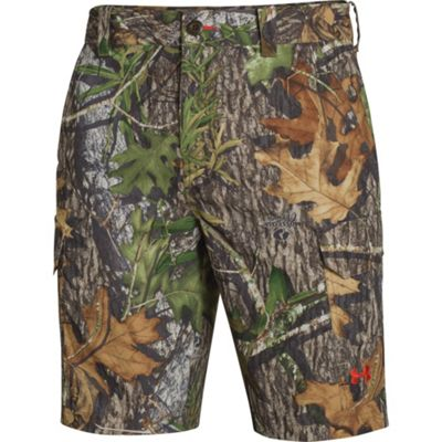 Under Armour Men's UA Camo Fish Hunter Cargo Short