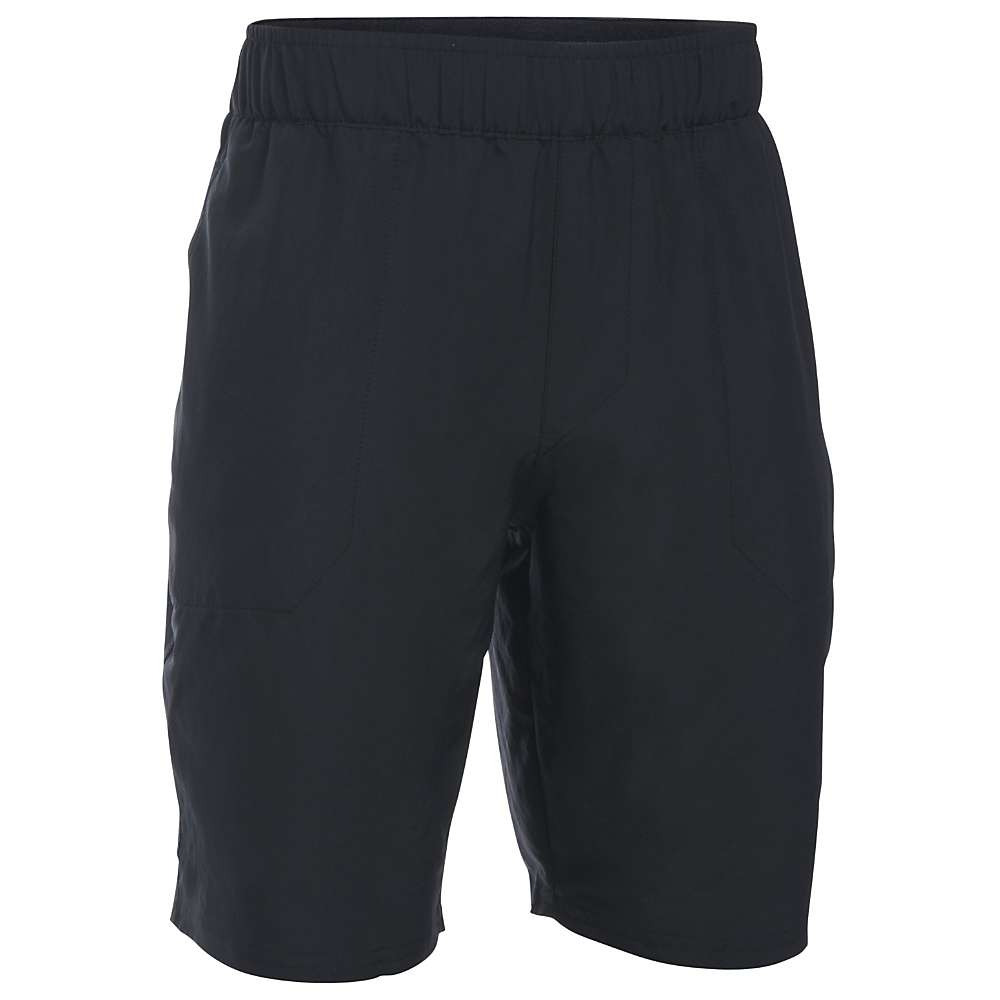 Under Armour Boys' UA Coastal Short - Medium - Black / Rhino Grey
