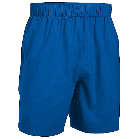 Under Armour Men's UA Coastal Short Graphite / Carolina Blue