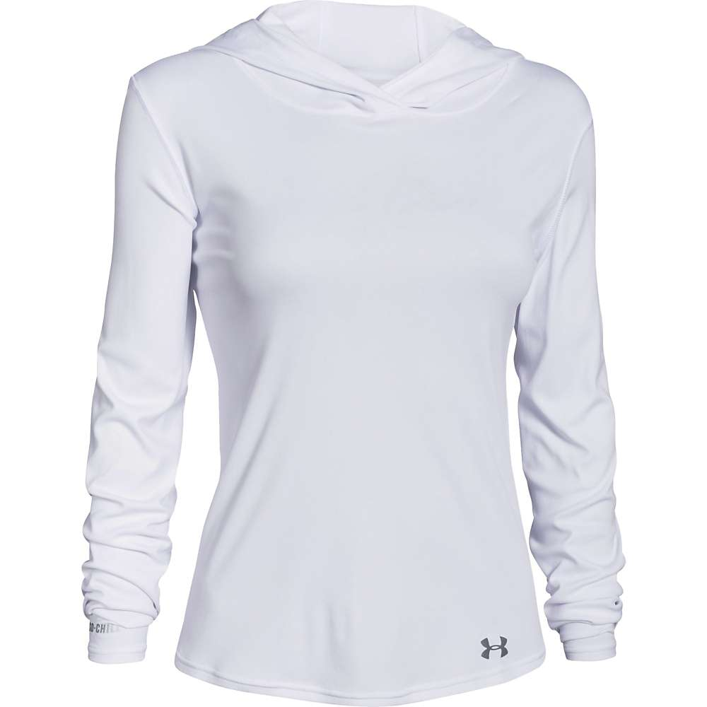 Under Armour Women's UA Iso-Chill Dayz Hoody - Small - White / Graphite