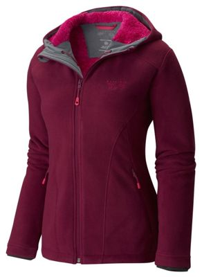 Mountain Hardwear Women's Dual Fleece Hooded Jacket